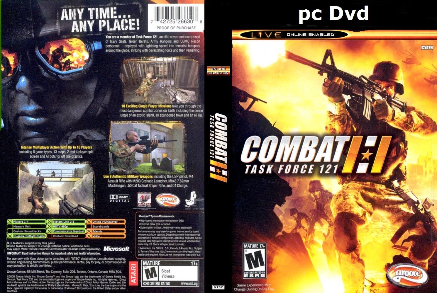 تحميل لعبة Combat Task Force 121 برابط واحد وبدون تثبيت