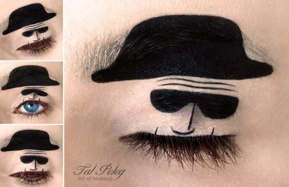 Makeup Art Turns Eyelids into Storybook Scenes Seen On www.coolpicturegallery.us