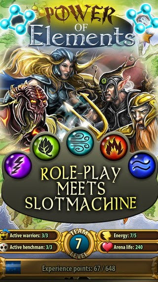 Power of Elements Gameplay IOS / Android