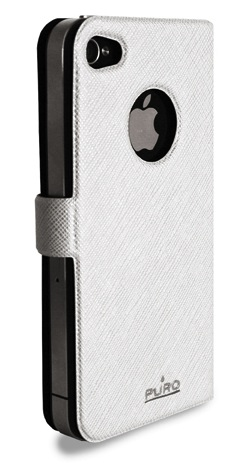 boocklet+white Funda Booklet Slim para iPhone 4/4s