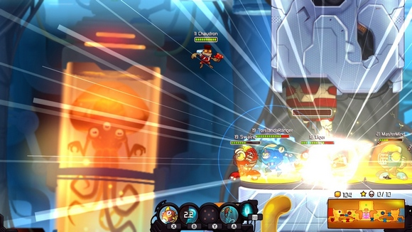 awesomenauts pc game review gameplay screenshot 2 Awesomenauts v2.0a Incl 30 DLCs Cracked 3DM