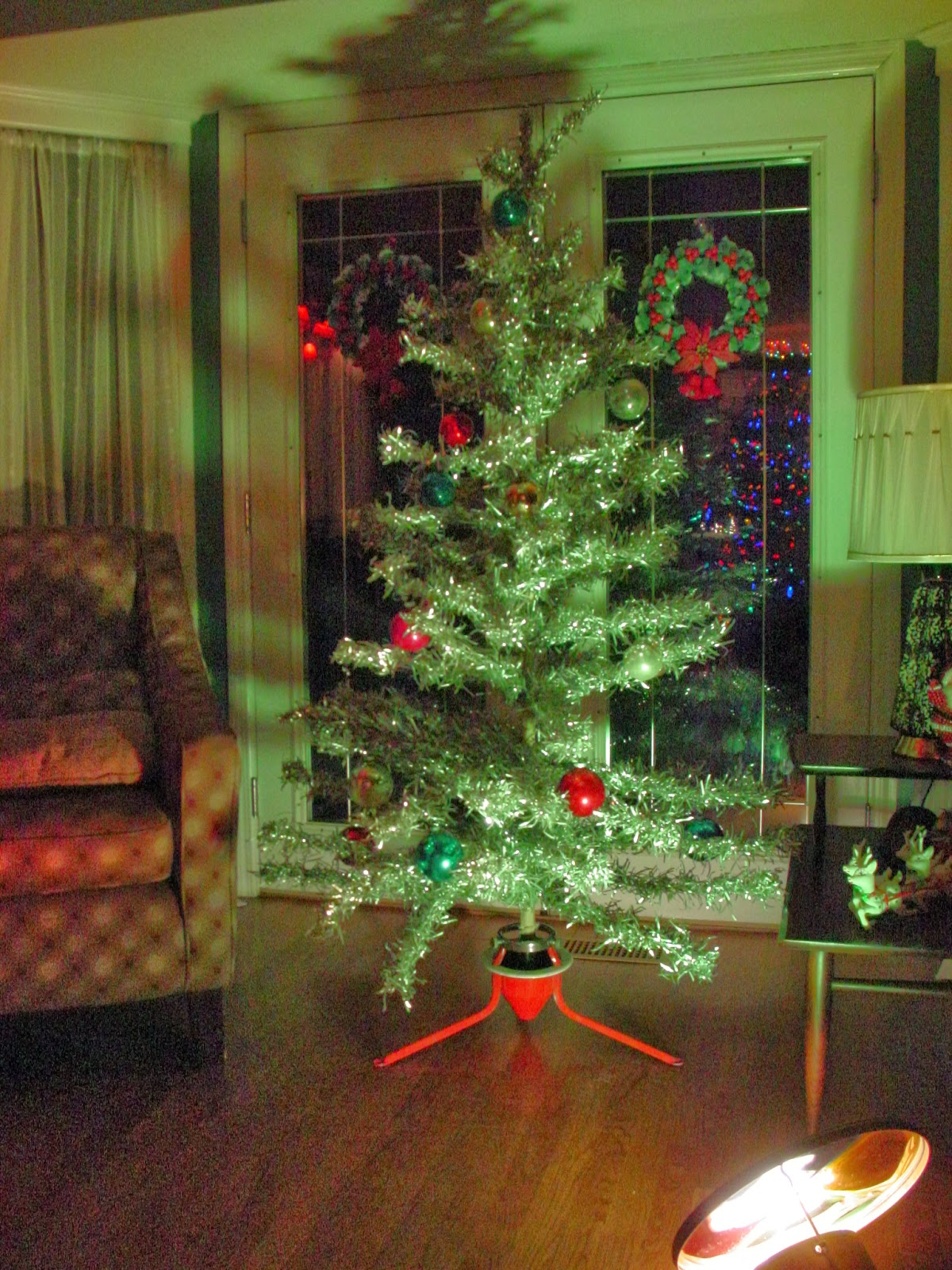 Garage Sale Finds: O Christmas Tree, O Christmas Tree, How Aluminum ...