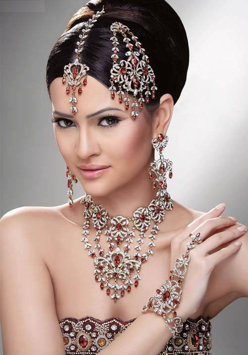 Indian Wedding Bride Jewelry