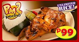 PM 2 of Mang Inasal menu