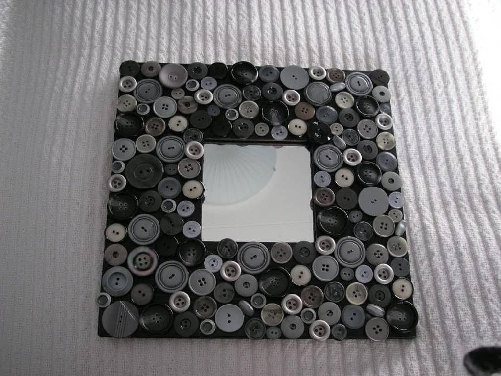 Reciclaje libre espejos ikea - Manualidades decorar marcos para cuadros ...