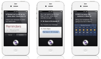 Siri iPhone 4S