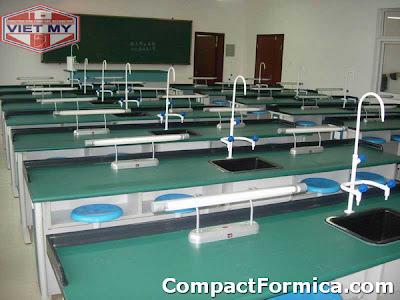 bàn ghế phòng thí nghiệm formica