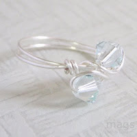Wirewrapped Ring by MagsBeadsCreation