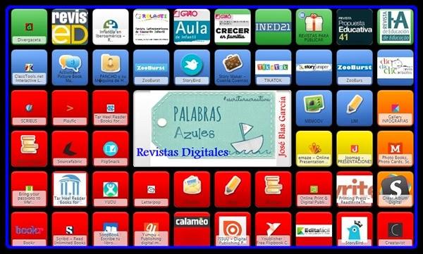 ♥  Recursos para crear Revistas Digitales.