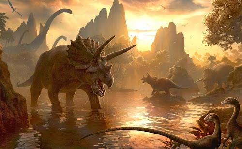 Porque os dinossauros desapareceram