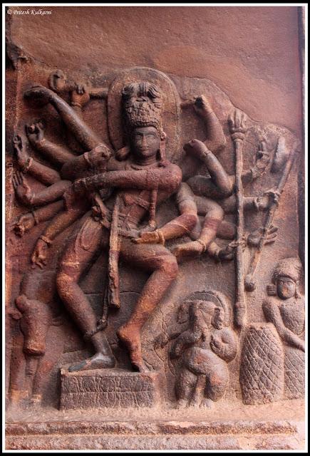 Shiva's Tandav in Nataraj style
