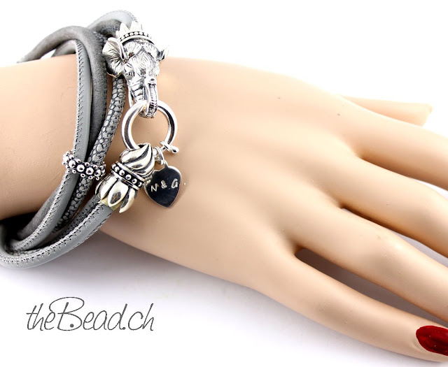 Armband Echtleder mit 925 Sterling Silber Onlineshop