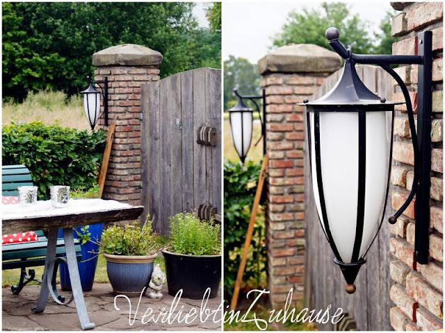 rustikal-moderne Außenleuchten für den Garten