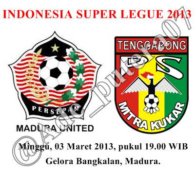 Persepam Madura United vs Mitra Kukar