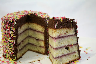 Layer cake_cake_chocolate_tarta americana