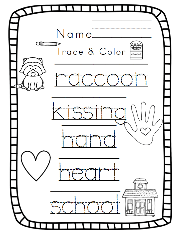 It is a photo of Influential Kissing Hand Printable