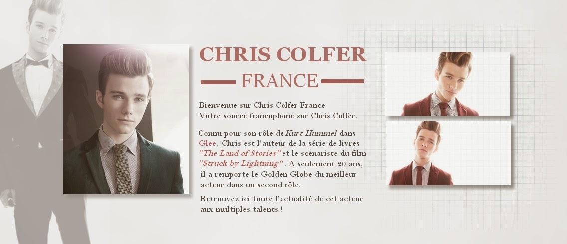Chris Colfer France