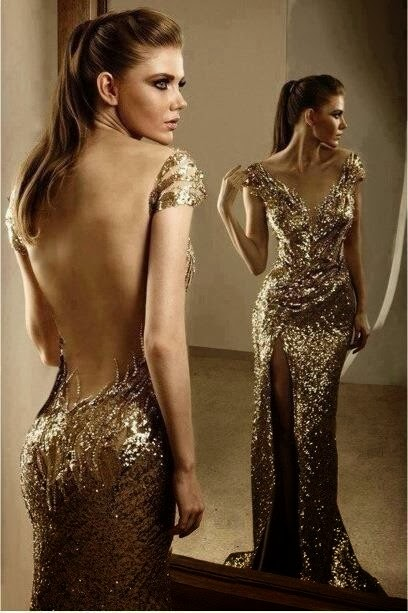 WhiteAzalea Evening Dresses Glitter Evening Dress