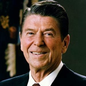 Ronald Reagan was the only labor leader mentioned on the Sunday  morning chat shows this year.