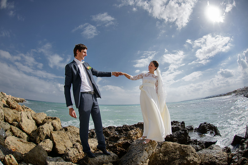 vestuvės Kretoje, Graikijoje