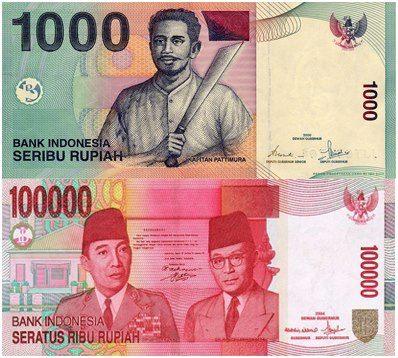 Kisah Uang Rp 1.000 Dan Rp 100.000