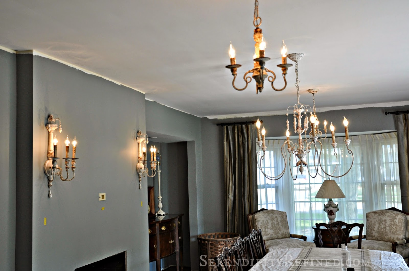 Serendipity Refined Blog: French Country Light Fixtures For The Farmhouse Dining  Room