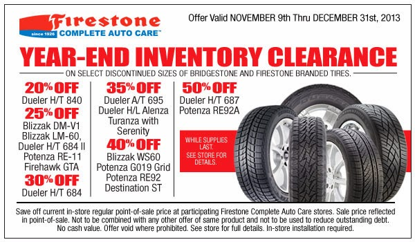 Discount tires coupon