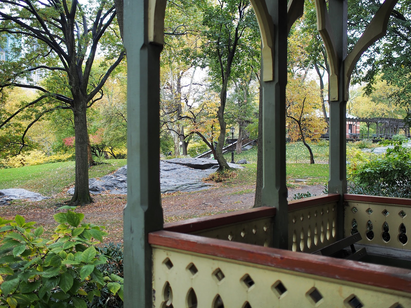 The Dairy, #theDairy #centralpark #fall #nyc #fallfoliage #rainyday 2014