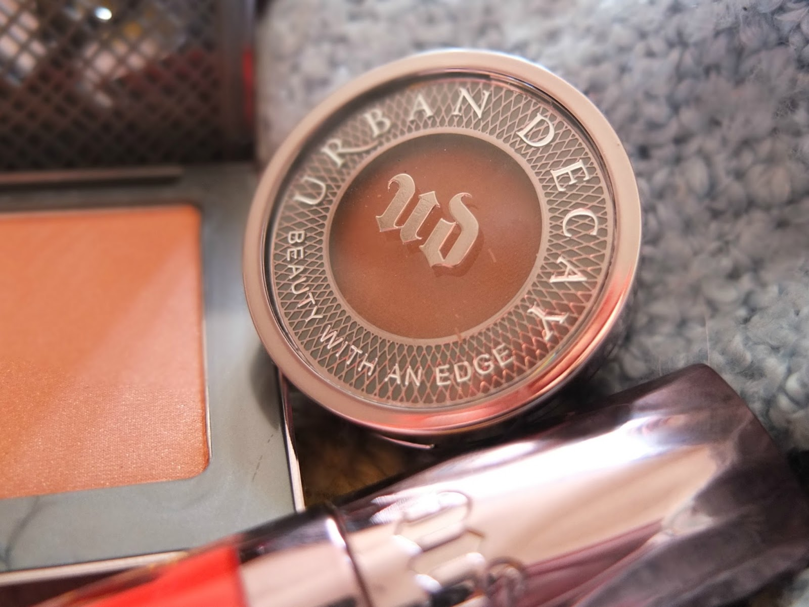 Burnt Orange Make up look with Urban Decay cosmetics on Hello Terri Lowe, UK Beauty Blog.
