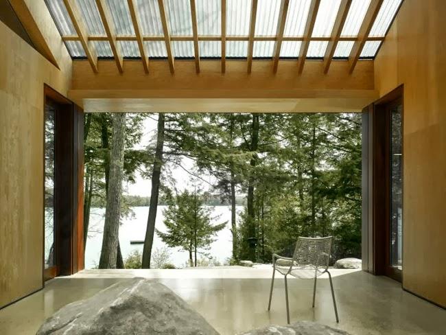 Casas Minimalistas y Modernas Casa Minimalista en Ontario