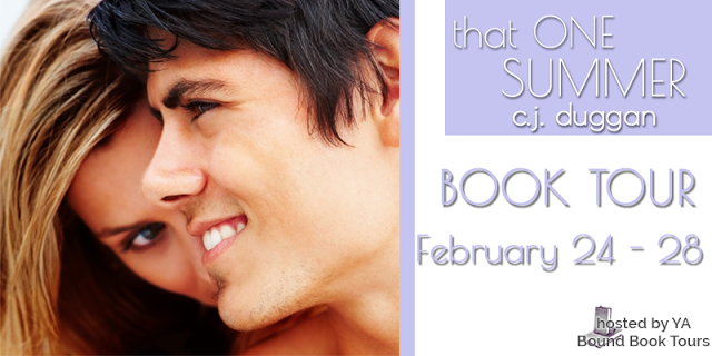 Blog Tour, Review and Giveaway: That One Summer by C.J. Duggan (Summer #3)
