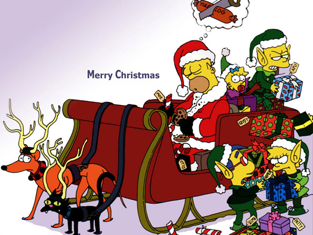 adult christmas cartoon wallpaper - photo #22