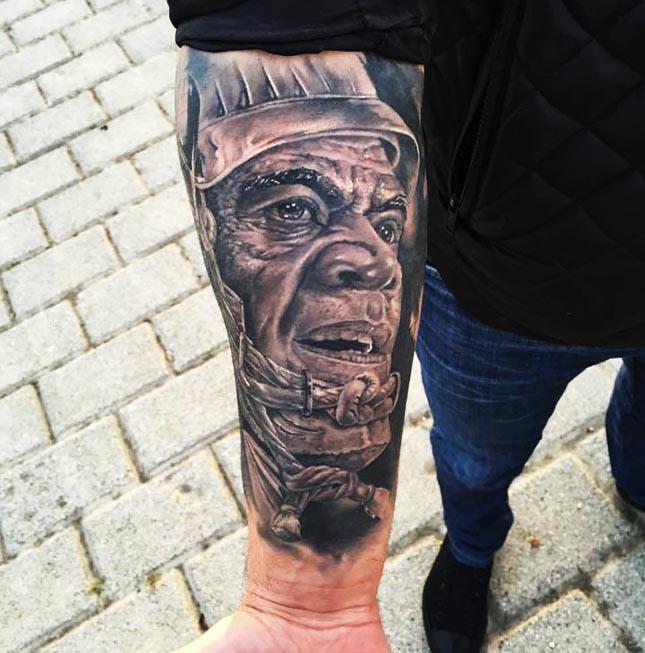 3D tattoos trend