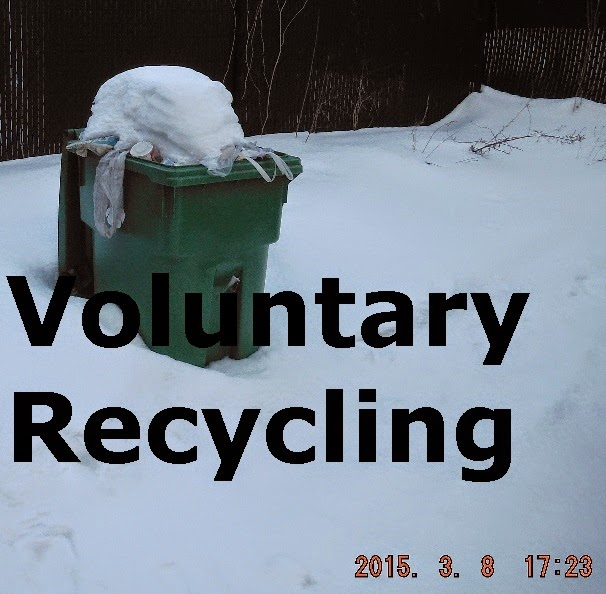 Voluntary  Recycling or Consumer choice