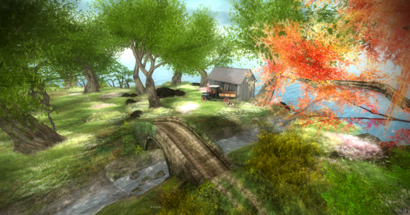 Second Life Virtual Landscape Review - Lost Dream Sim.
