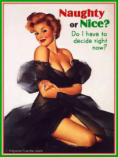 Naughty or Nice Christmas Pinup Girls