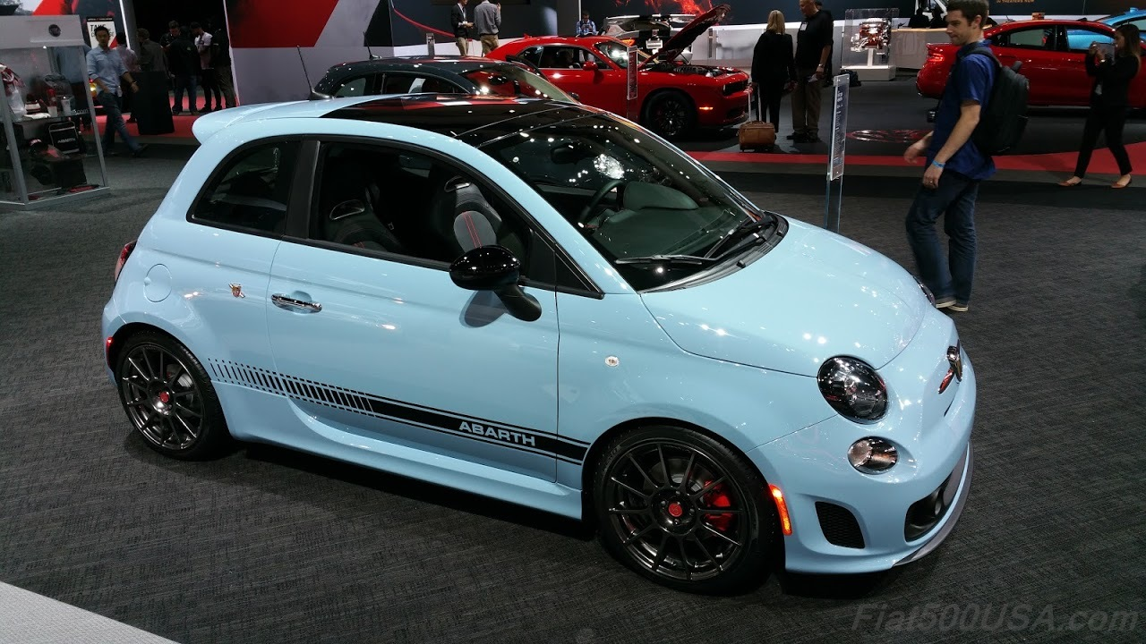 the daily scorpion - fiat 500 abarth
