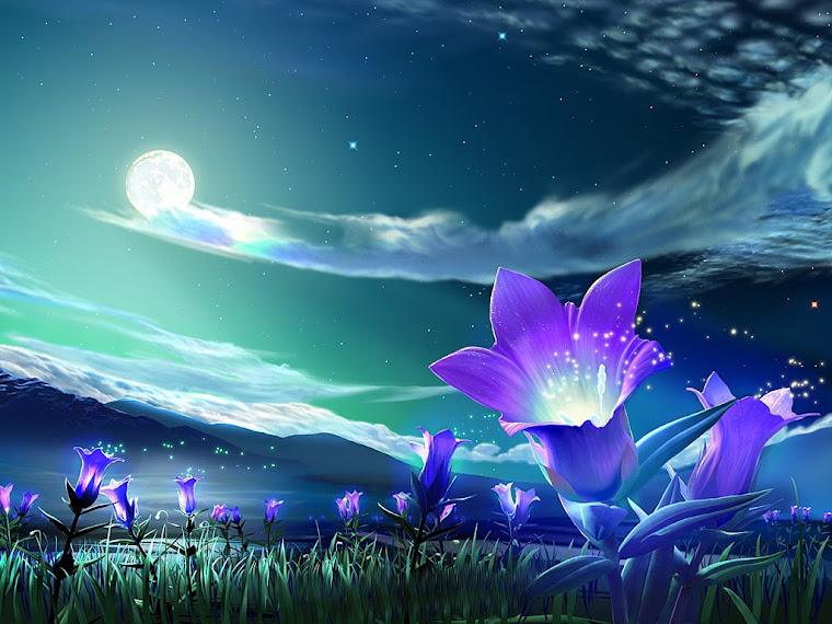 Floare albastra!!!