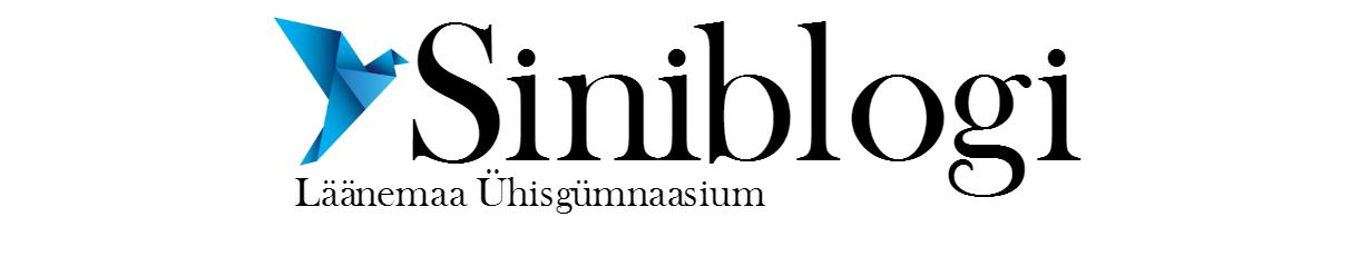 Siniblogi - Läänemaa Ühisgümnaasium