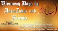 Giveaway Raya by AnemZahar and Friends