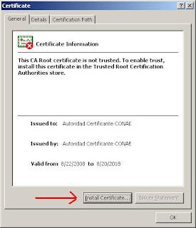 Autoridad Certificante