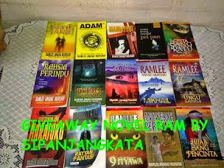 Second Giveaway Novel RAM by SiPanjangKata
