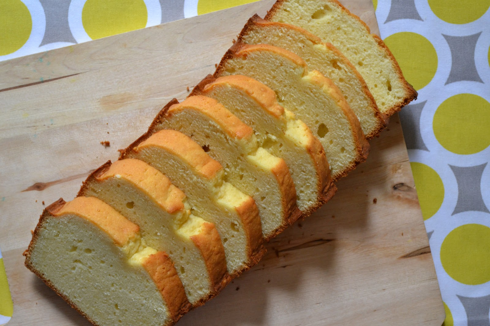 Cream Cheese Pound Cake Recipe ~ Easy Dessert Recipes