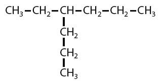 ikatan rantai atom karbon