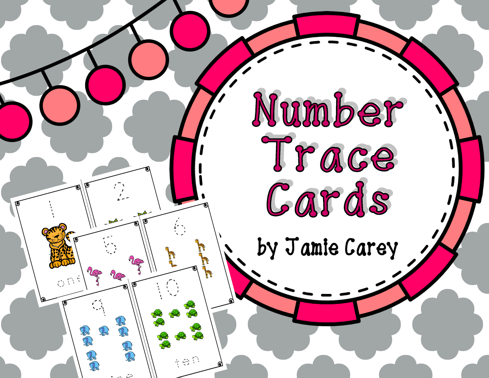 http://www.teacherspayteachers.com/Product/Number-Trace-Cards-1375936