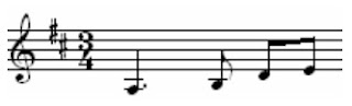 3-4 Time Signature