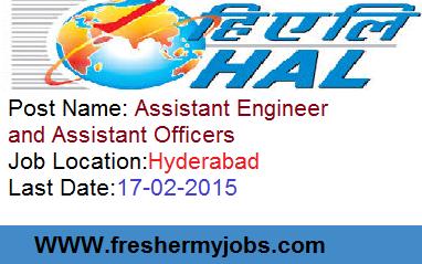 HAL 2015,central govt jobs