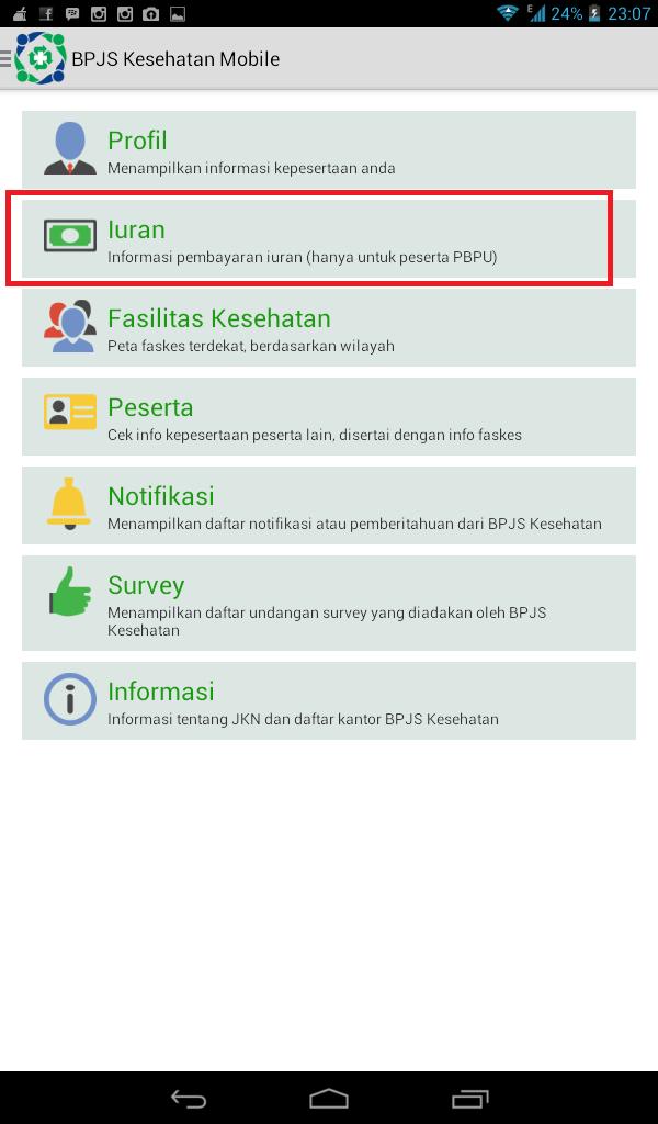 Cara Mengetahui Iuran BPJS melalui Aplikasi Android