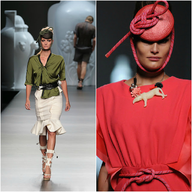 Ana Locking Primavera-Verano 2013 en la Mercedes-Benz Fashion Week Madrid