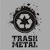 Estampa Personalizada Trash Metal